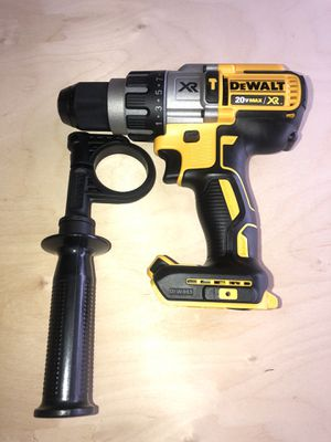 DEWALT 20-Volt MAX XR Lithium-Ion Cordless 1/2 in. Premium Brushless Hammer Drill (Tool-Only) for Sale in National City, CA