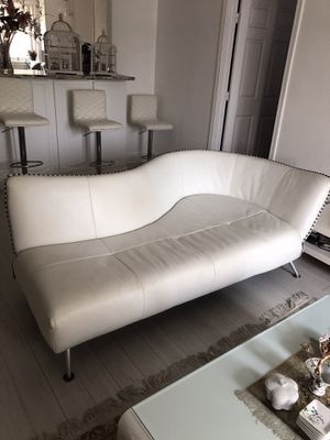 Pairs of Italian leather sofa for Sale in Concord, CA