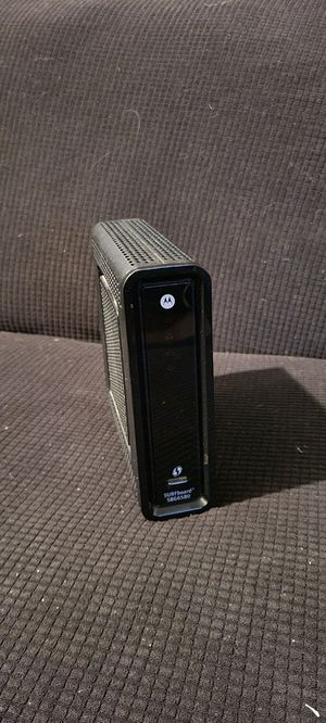 Cable Modem/Router - Motorola SURFboard SBG6580 for Sale in Long Beach, CA