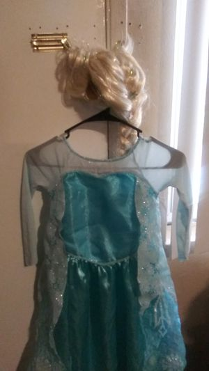 Elsa from frozen Disney character size 4 or 5 totler for Sale in Irwindale, CA
