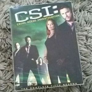 CSI season 5 dvds for Sale in South Gate, CA