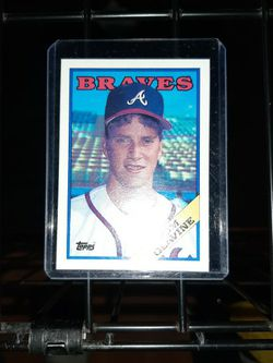 1988 Topps Tom Glavine Baseball Card for Sale in Springfield,  IL