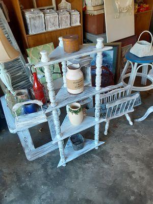 Farmhouse coner shelf 38 inches tall for Sale in Burlington, NC