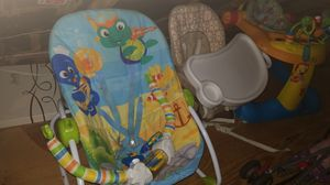 Walker, bouncer and booster seat for Sale in Fort Washington, MD