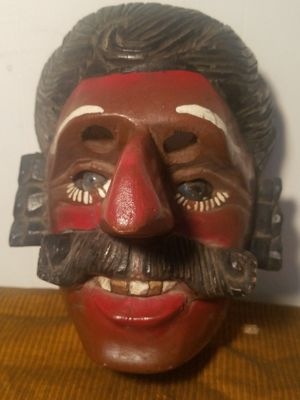 Antique Hand Crafted Theater Mask for Sale in Fairfax, VA