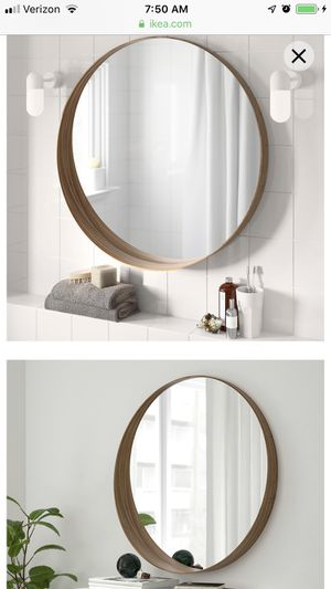 IKEA Stockholm Round Mirror for Sale in Corona, CA