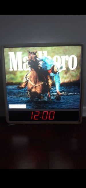 Marboro clock for Sale in Pompano Beach, FL