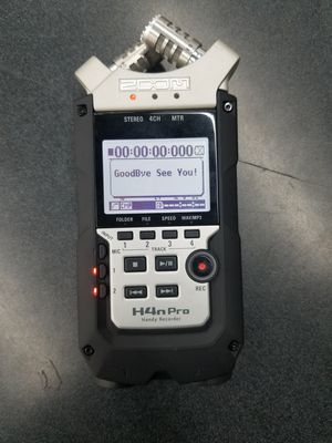 Zoom H4N PRO Digital Multitrack Recorder for Sale in Irving, TX