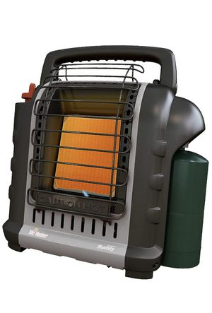 Mr. Heater Buddy Grey Indoor-Safe Portable RV Radiant Heater (4,000-9,000-BTU) for Sale in Moreno Valley, CA