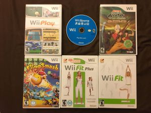 6 Nintendo Wii Games (including Wii Sports) for Sale in Fairfax, VA