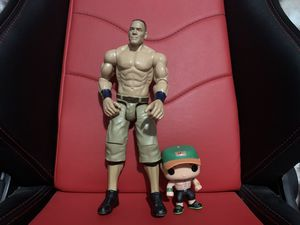 WWE John Cena Action Figure and Funko Pop for Sale in City of Industry, CA