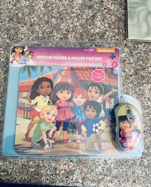 Dora Optical Mouse and Mouse Pad for Sale in Rancho Cucamonga, CA