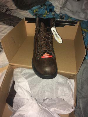 Working steel toe boots 🥾 size 8 in half for Sale in Homestead, FL