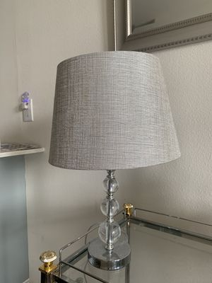 Target Grey and Silver Lamp for Sale in Austin, TX