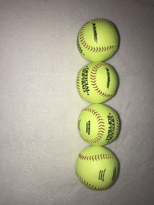 Official 12 inch softballs for Sale in La Vergne, TN