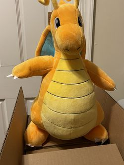 Pokemon Build A Bear Dragonite Plush - W/ Clothes And Sound for Sale in Potomac,  MD