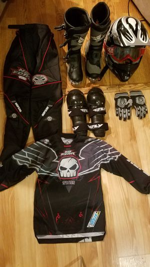 Motorcycle Gear for Youth for Sale in San Antonio, TX