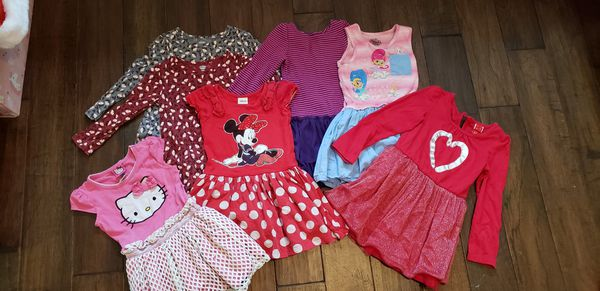 Girls Lot of 7 (3-4T) dresses
