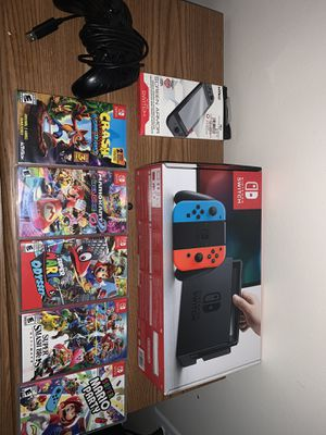 Nintendo Switch - Mario bundle for Sale in North Olmsted, OH