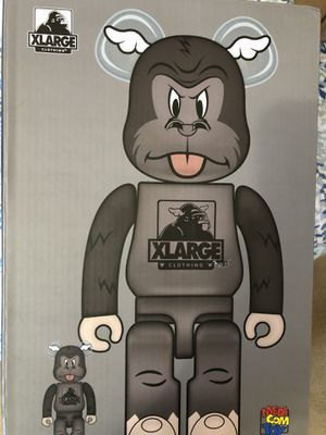 D Face Xlarge Bearbrick Medicom Toy Be@rbrick 400% 100% Designer Con 2019 Rare for Sale in Minneapolis, MN