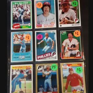 (23) HOF Mike Schmidt Baseball Cards for Sale in Cherry Hill, NJ