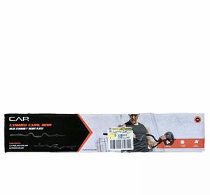Cap Barbell curl bar weightlifting for Sale in North Bergen, NJ