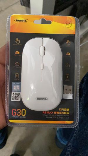 Wireless Mouse Remax. USB Wireless Mouse. Brand New. Long Life Battery. Ultra Thin for Sale in Los Angeles, CA