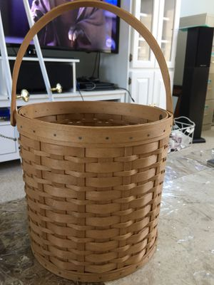 Authentic Longaberger Strong Handmade Basket! for Sale in Plainview, NY