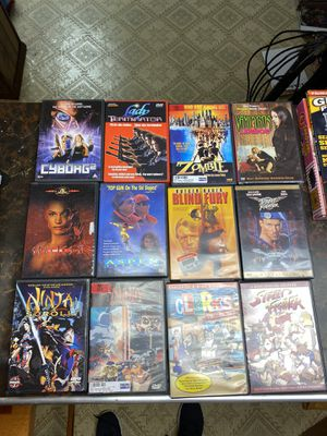 Various Cult Classic DVDs! Lady Terminator, Cyborg 2, Zombie, Ninja Scroll, Species! for Sale in Canton, MI
