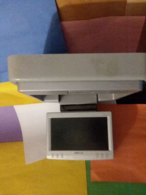 Sony flip down tv with dvd player for Sale in St. Louis, MO