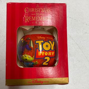 Toy story two glass bulb Christmas ornament from the Disney store you for Sale in Westminster, CA