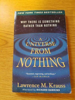 Book - a universe from nothing by Lawrence krauss for Sale in Coeur d'Alene, ID