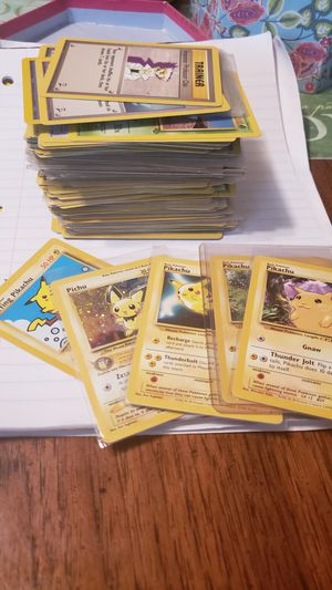 Pokemon 1999 and 2000 cards for Sale in Rowlett, TX