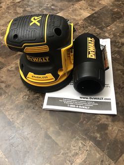 DeWalt 20-Volt MAX XR Cordless Brushless 5 in. Random Orbital Sander (Tool-Only) for Sale in Happy Valley,  OR