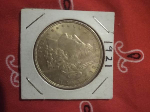 Antique silver dollars 1881 and up