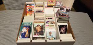 HUGE BOX OF BASEBALL CARDS- 1978 - 1992 for Sale in Glendora, CA