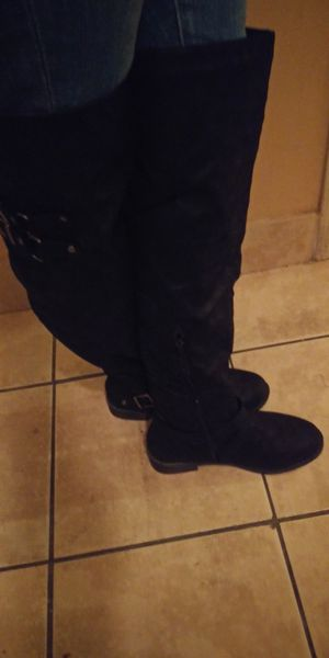 JustFab thigh high boots 7.5 women's for Sale in Tacoma, WA