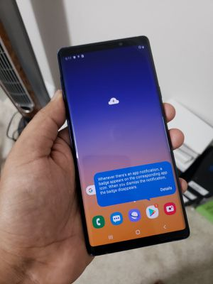 Samsung Galaxy Note 9, 128GB, Factory Unlocked.. Excellent Condition. for Sale in Fort Belvoir, VA