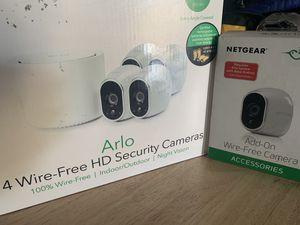Arlo security camera (5 cameras) for Sale in San Diego, CA