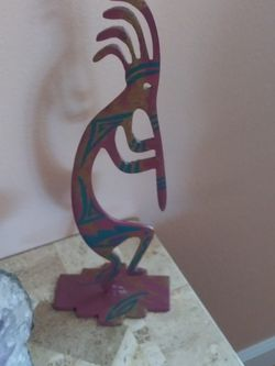 """12"""" Kokopelli Indian Decoration for Sale in Colorado Springs,  CO"""