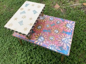 Sun-patterned Table for Sale in Norfolk, VA