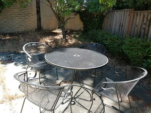 Patio Table and Chairs for Sale in Hayward, CA
