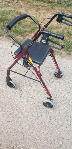 Walker, with wheels brakes, 7/10 good condition for Sale in Worcester, MA