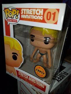 Funko pop stretch armstrong chase retro toys for Sale in Ontario,  CA