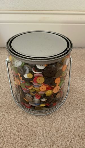 Pail full of buttons. Brand new for Sale in Peoria, IL