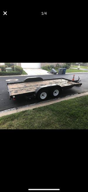 21 foot Heavy Duty Car Hauler w/ automatic dual breaking system —(CUSTOM) for Sale in Boise, ID