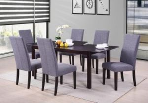 7 PC Dining Set *909*541*6556 for Sale in Ontario, CA