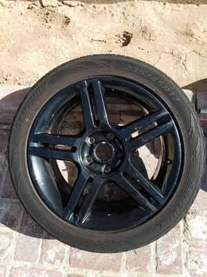 Century tires with black rims 235/45Z/R17 for Sale in Las Vegas, NV