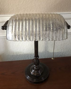Awesome Banker's Lamp - Like NEW! for Sale in Burleson, TX
