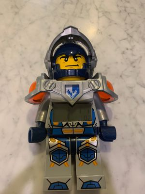 LEGO nexo knights Clay alarm clock for Sale in Kirkland, WA
